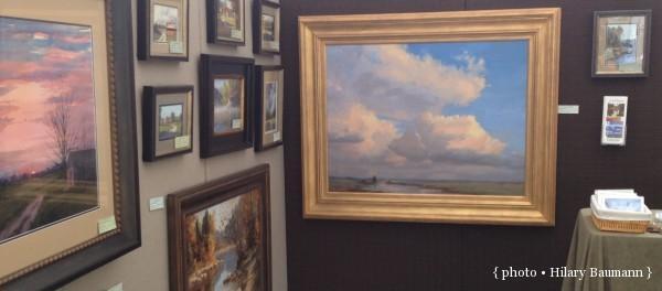 Carol Reesor cloud painting